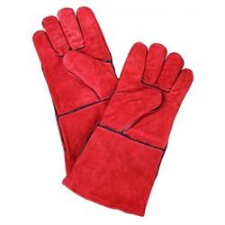 Перчатки пескоструйщика CONTRACOR (красные) - фото 5672